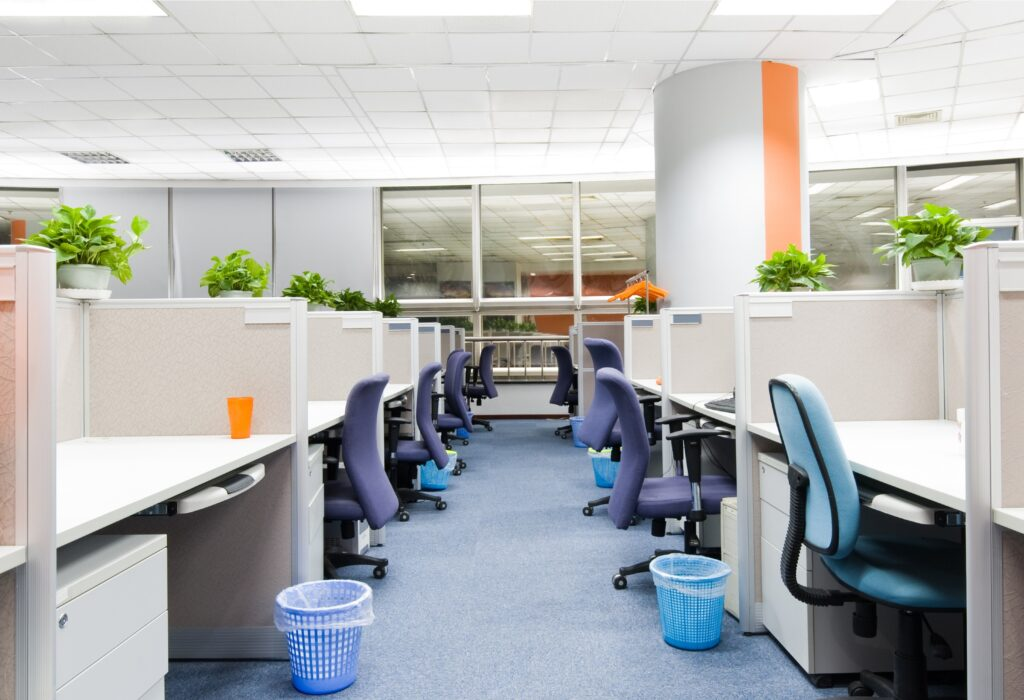 Empty office, Martina's Cleaning, Cleaner in Melksham and Devizes